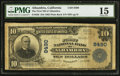 National Bank Notes:California, Alhambra, CA - $10 1902 Plain Back Fr. 626 The First NB Ch. # 8490. ...