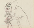 Animation Art:Production Drawing, Snow White and the Seven Dwarfs Old Hag Animation Drawing (Walt Disney, 1937). ...