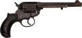 Handguns:Single Action Revolver, Colt Lightning Model 1877 Double Action Revolver....