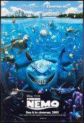 Animation Art:Poster, Finding Nemo Signed Theatrical Poster (Walt Disney/Pixar,2003). ...