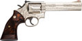 Handguns:Double Action Revolver, Engraved Smith & Wesson Model 586 Double Action Revolver....
