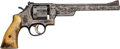 Handguns:Double Action Revolver, Engraved Smith & Wesson Double Action Revolver....