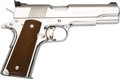 Handguns:Semiautomatic Pistol, Colt Gold Cup National Match Semi-Automatic Pistol....