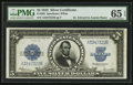 Large Size:Silver Certificates, Fr. 282 $5 1923 Silver Certificate PMG Gem Uncirculated 65 EPQ.. ...