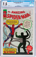 Silver Age (1956-1969):Superhero, The Amazing Spider-Man #3 (Marvel, 1963) CGC VF- 7.5 Off-white towhite pages....