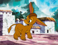 Animation Art:Color Model, Grand Canyonscope Burro Color Model Cel (Walt Disney, 1954). ...