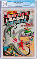 Silver Age (1956-1969):Superhero, The Brave and the Bold #28 Justice League of America (DC, 1960) CGCGD/VG 3.0 Cream to off-white pages....
