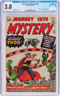 Silver Age (1956-1969):Superhero, Journey Into Mystery #83 (Marvel, 1962) CGC GD/VG 3.0 Off-white to white pages....
