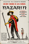 """Movie Posters:Foreign, Nazarin (Cinelde, 1959). French Half Grande (31.25"""" X 47""""). Foreign.. ..."""