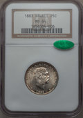 Coins of Hawaii , 1883 25C Hawaii Quarter MS64 NGC. CAC. NGC Census: (245/276). PCGSPopulation: (358/340). CDN: $425 Whsle. Bid for problem-...