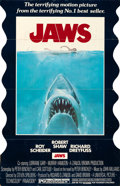 "Movie Posters:Horror, Jaws (Universal, 1975). Standee (36"" X 56"") Roger Kastel Artwork....."