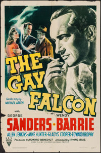 "The Gay Falcon (RKO, 1941). One Sheet (27"" X 41""). Mystery"