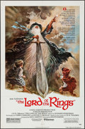 """Movie Posters:Animation, The Lord of the Rings (United Artists, 1978). One Sheet (27"""" X 41"""") Style A. Animation.. ..."""