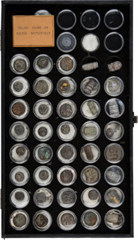 Large Collection of Forty Custer Battlefield Relics