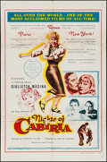 "Movie Posters:Foreign, Nights of Cabiria (Lopert, 1957). One Sheet (27"" X 41""). Foreign.. ..."