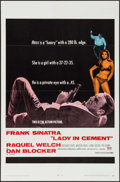 "Movie Posters:Crime, Lady in Cement (20th Century Fox, 1968). One Sheet (27"" X 41""),Lobby Card Set of 8 (11"" X 14"") & Pressbook (10 pages, +9"" X...(Total: 9 Items)"
