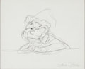 Animation Art:Production Drawing, The Grinch Original Drawing by Chuck Jones (MGM, c. 1990s). ...