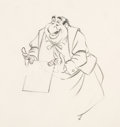 Animation Art:Production Drawing, Lady and the Tramp Tony Animation Drawing (Walt Disney,1955). ...