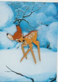 Animation Art:Production Cel, Bambi Faline Production Cel (Walt Disney, 1942). ...