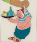 Animation Art:Production Cel, Peter Pan Mr. Smee Production Cel (Walt Disney, 1953). ...