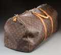 Decorative Arts, French:Other , A Louis Vuitton Classic Monogram Leather Duffle Bag. 18 h x 22 w x10 d inches (45.7 x 55.9 x 25.4 cm). PROPERTY FROM THE ...