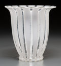 Art Glass:Other , An A. D. Copier Serica Glass Vase. 8 inches high x 7-1/2 inchesdiameter (20.3 x 19.1 cm). ...
