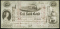 Obsoletes By State:Ohio, Newark, OH- Columbus & Lake Erie Rail Road Co. $50 Oct. 1, 1850. ...