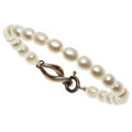 Estate Jewelry:Bracelets, Cultured Pearl, Sterling Silver Bracelet, Tiffany & Co.. ...