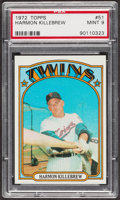 Baseball Cards:Singles (1970-Now), 1972 Topps Harmon Killebrew #51 PSA Mint 9....