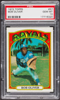 Baseball Cards:Singles (1970-Now), 1972 Topps Bob Oliver #57 PSA Gem MT 10. ...