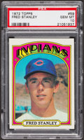 Baseball Cards:Singles (1970-Now), 1972 Topps Fred Stanley #59 PSA Gem MT 10. ...
