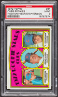 Baseball Cards:Singles (1970-Now), 1972 Topps Cubs Rookies #61 PSA Mint 9 - Only Two Higher. ...