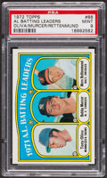Baseball Cards:Singles (1970-Now), 1972 Topps AM Batting Leaders #86 PSA Mint 9. ...