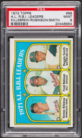 Baseball Cards:Singles (1970-Now), 1972 Topps AM RBI Leaders #88 PSA Mint 9 - Only Four Higher. ...