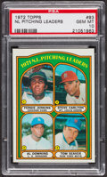 Baseball Cards:Singles (1970-Now), 1972 Topps NL Pitching Leaders #93 PSA Gem MT 10 - Pop Four. ...