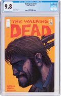 Modern Age (1980-Present):Horror, The Walking Dead #12 (Image, 2004) CGC NM/MT 9.8 White pages....