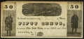 Obsoletes By State:Ohio, Roscoe, OH- Unknown Issuer 50¢ ND 184_ Remainder Wolka 2342-11. ...