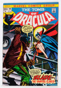 Bronze Age (1970-1979):Horror, Tomb of Dracula #10 (Marvel, 1973) Condition: VF-....