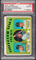 Baseball Cards:Singles (1970-Now), 1972 Topps Carlton Fisk - Rookie Stars #79 PSA Mint 9. ...
