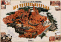 "Animation Art:Poster, ""Big Thunder Mountain"" Tokyo Disneyland Pre-Opening Poster (WaltDisney, 1987). ..."