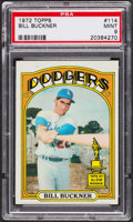 Baseball Cards:Singles (1970-Now), 1972 Topps Bill Buckner #114 PSA Mint 9 - Only Four Higher. ...