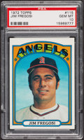Baseball Cards:Singles (1970-Now), 1972 Topps Jim Fregosi #115 PSA Gem MT 10. ...