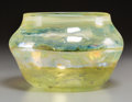 Art Glass:Other , An Opalescent Glass Bowl Attributed to Christopher Dresser's Clutha Ware. 5 inches high x 8 inches diameter (12.7 x 20.3 cm)...