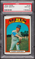 Baseball Cards:Singles (1970-Now), 1972 Topps Gary Gentry #105 PSA Gem MT 10. ...
