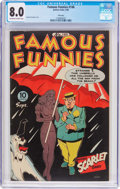 Golden Age (1938-1955):Miscellaneous, Famous Funnies #146 File Copy (Eastern Color, 1946) CGC VF 8.0 Off-white to white pages....