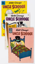 Golden Age (1938-1955):Humor, Uncle Scrooge Group of 11 (Dell, 1954-61) Condition: Avera...