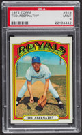 Baseball Cards:Singles (1970-Now), 1972 Topps Ted Abernathy #519 PSA Mint 9 - Only Two Higher. ...
