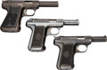 Handguns:Semiautomatic Pistol, Lot of Three Savage Semi-Automatic Pistols.... (Total: 3 Items)