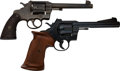 Handguns:Double Action Revolver, Lot of Two Colt Officer's Model Double Action Revolvers.... (Total: 2 Items)