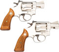 Handguns:Double Action Revolver, Lot of Two Smith & Wesson Model 34-1 Double Action Revolvers.... (Total: 2 Items)